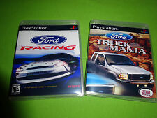 Empty Replacement Cases! FORD TRUCK MANIA - Racing PLAYSTATION PS1 PS2 PS3