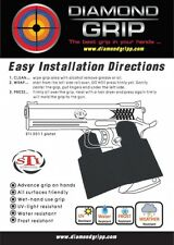 "NEW! STI 2011 / SV pistols Grip-Tape ""DiamondGripp"" Black Color FULL Cover"