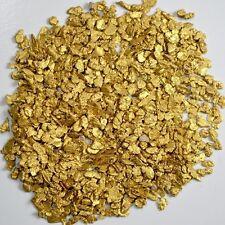 Alaskan Yukon Gold Rush Nuggets  12-10 Mesh 1 Troy Ounce 31.1 Gram 20 DWT