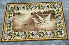 Vintage French Tapestry Wall Hanging Home Décor Aubusson Style Romantic Tapestry