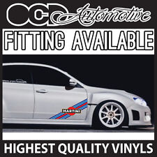 MARTINI DOOR STRIPE / SIDE STRIPE GRAPHICS DECALS STICKER KIT RALLY DRIFT RACE