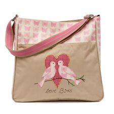 Pink Lining Poppins Sac Rose Papillons langer de bébé Nappy Diaper Bag