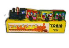 train MÉCANIQUE à clef jouet en tole old toys tin toys jouet ancien