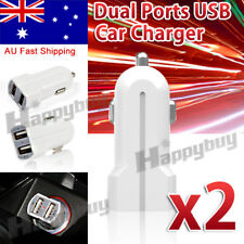 Universal Dual 2 Port USB Car Lighter Socket Charger For iPhone 5 6 S Samsung LG
