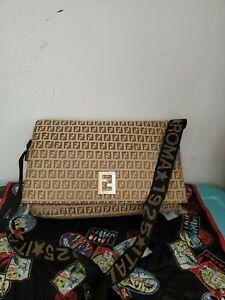 FENDI Zucca Messenger Bag