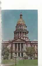 State Capitol Building  Denver Colorado 1 Mile Above Sea Level   Postcard 2257