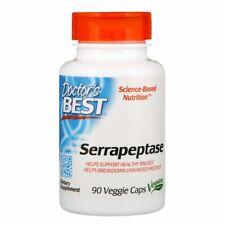 Serrapeptase Enzyme 40,000 SPU 90 Veg Capsules Vegan NON-GMO