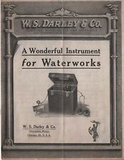 WS DARLEY SCIENTIFIC INSTRUMENTS ELECTRICAL APPARATUS FIRE SIRENS CHICAGO IL