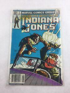 Further Adventures of Indiana Jones 6 June 1983 Marvel Comic Book