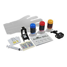 Color Ink Refill Kit For Hewlett Packard CC643WN & CC644WN (HP 60 & 60XL)