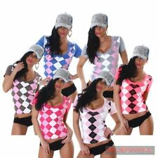 Polyester Clubwear Short Sleeve Hand-wash Only Tops & Blouses for Women