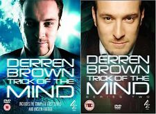 Derren Brown Trick Of The Mind Complete Part 1 2 (2006) Derren Brown NEW R2 DVD