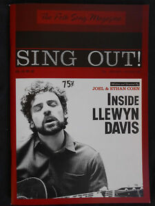 INSIDE LLEWYN DAVIS  PROMOTIONAL PRESS BOOK BOOKLET PROMO