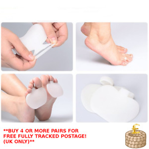 1 Pair Gel Metatarsal Pads Ball of Foot Pads Cushions Hard Skin Morton's Neuroma