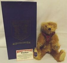 Boxed 38cm Ltd. Ed. Merrythought Mohair Teddy Bear 'Windsor' Collector's Club