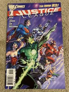 Justice League Issue# 1 2 3 4 5 7 12 24 25 (DC, 2011) The New 52 Series~~🔥Key