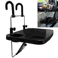 Black Foldable Car SUV Steering Wheel Mount Desk Laptop Tray Stand Holder Table