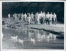1962 US Supreme Court Justice W. O. Douglas Peace Corp Trainees DC  Press Photo