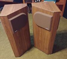 Pair Bose 401 Stereo Floor Standing Speaker Direct / Reflecting Near Mint