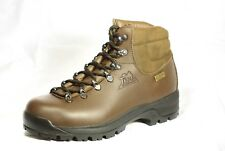 Hiking Boots VIBRAM Leather Trezeta Snowdon Mid BROWN Walking unisex UK 6 EUR 39