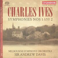 Melbourne Symphony Orchestra - Ives: Symphonies, Nos. 1 and 2 [CD]