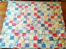 Kids Bedroom Window Blinds Shades Snakes and Ladders Red and Blue