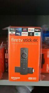 Amazon Fire TV Stick 4K Ultra - 2nd Gen Alexa Volume Controls 2021 UK Firestick