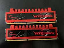 G.Skill RipJaws 8GB Kit (2x4GB) PC3-10666 DDR3 Desktop RAM F3-10666CL9Q-16GBRL
