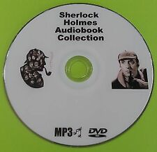 Sherlock Holmes MP3 Audio Book Collection on DVD 80 Books Almost 60 Hours!