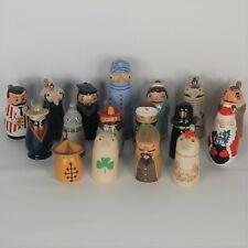 Lot of 17 Schultz & Dooley Utica Club Beer Mini Steins/Figures Made in Germany
