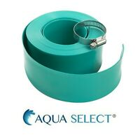 """Aqua Select 1½"""" Swimming Pool Backwash Hose with Clamp (Various Lengths)"""