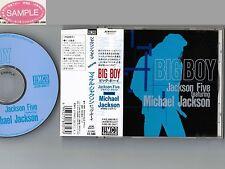 Promo! MICHAEL JACKSON Big Boy JAPAN CD w/OBI+P/S BOOKLET JICM-89317 Free S&H/PP