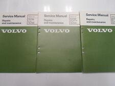 1984 Volvo DL GL GLE Canada Turbo Diesel Repairs Maintenance Service Manual SET