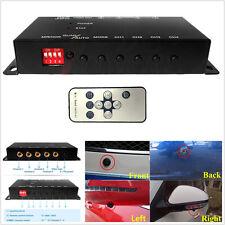 360° Monitoring 4-Way Car Parking View Camera Image Split-Screen Control Box Kit
