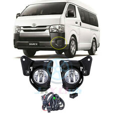 Bumper Fog Lamp Replacement Driving Light Wiring Kit For Toyota Hiace 2014-2018