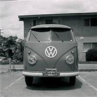 VW Volkswagen Kombi Panel Van 1957 model OLD CAR ROAD TEST PHOTO 5