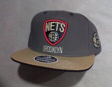 adidas BROOKLYN NETS NEW YORK NBA Basketball Snapback Baseball Hat Cap ADULT NWT
