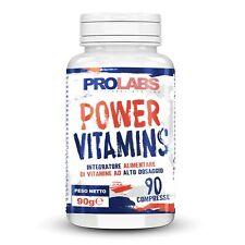 Prolabs Power Vitamins 90 compresse Integratore Multivitaminico Multiminerale