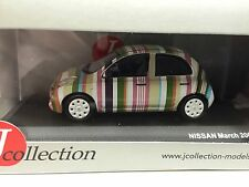 NISSAN March Stripe 20091:43 J COLLECTION VOITURE-DIECAST-JCL211