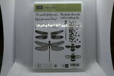 New Retired Dragonfly Dreams Stampin Up Rubber Stamps - 142924