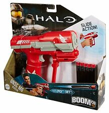 BOOMCO Darts Gun Machine Pretend Play HALO UNSC M6 Blaster 70ft Role Toys Kids