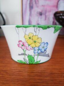 Heathcote China Art Deco #6381 'The Lea' Open Sugar Bowl