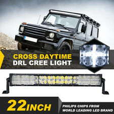 "22"" 280W CREE LED Light Bar Combo Cross DRL Mask Driving Offroad Truck ATV 20"""