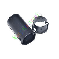 20pcs 9Pin Tube sockets Shield Cover for audio AMP 12AX7 12AU7 ECC82 ECC83 Black