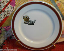 Vintage Jackson China Gilbert Davis Caterers Plate Jewish Star Boston China
