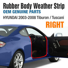 OEM Rubber Body Weather Strip (RIGHT) For HYUNDAI 2003-2008 Tiburon /Tuscani