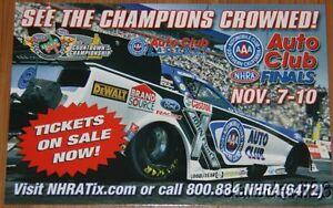 2013 Robert Hight AAA Ford Mustang FC Auto Club Finals Pomona NHRA Handout