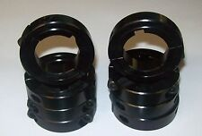"1 1/4"" Black Aluminum Axle Locking Collars Go Kart Racing"