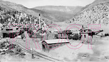 Uintah Railway (URY) View at the Atchee Shops at Atchee, CO in 1936 - 8x10 Photo