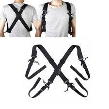 """48/"""" Tactical Duty Belt Over//Under Suspenders"""